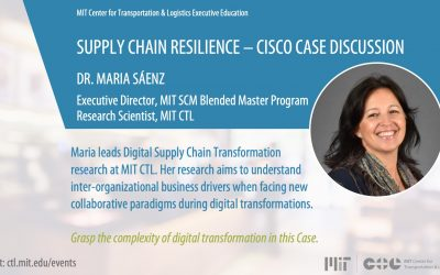 MIT CTL Executive Education: Supply Chain Resilience